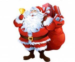 Julemanden kommer @ torvet Vejrup